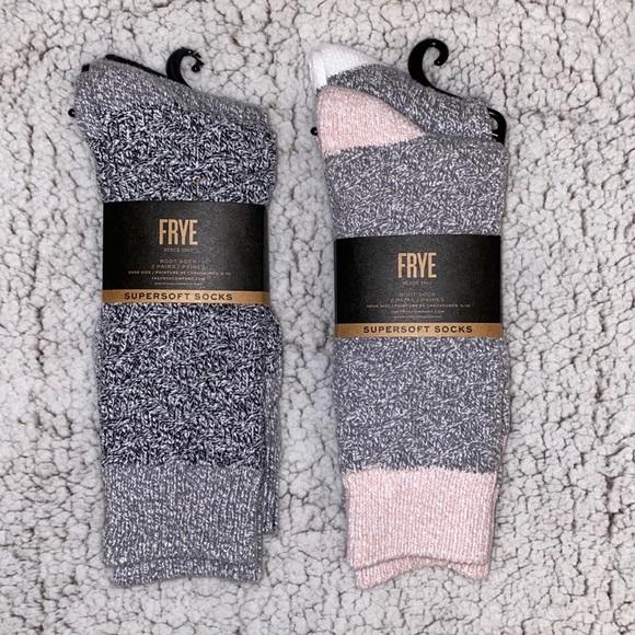 Frye Super Soft Sock Bundle - 4 Pairs